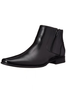Calvin Klein Men's Beck Leather Boot Black