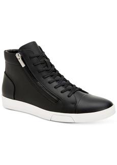 Calvin Klein Men's Berke Leather High-Top Sneakers Men's Shoes