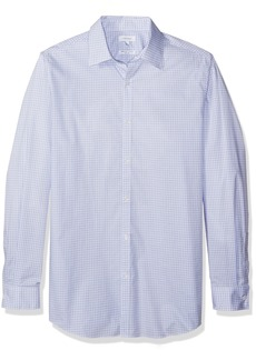 Calvin Klein Men's Big and Tall Long Sleeve Button Down Check Shirt  2X-Large B