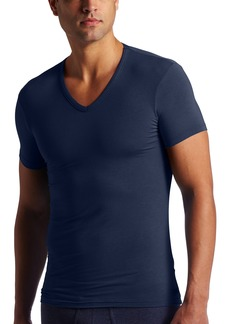 Calvin Klein Men's Body Modal Short Sleeve V Neck T-Shirt