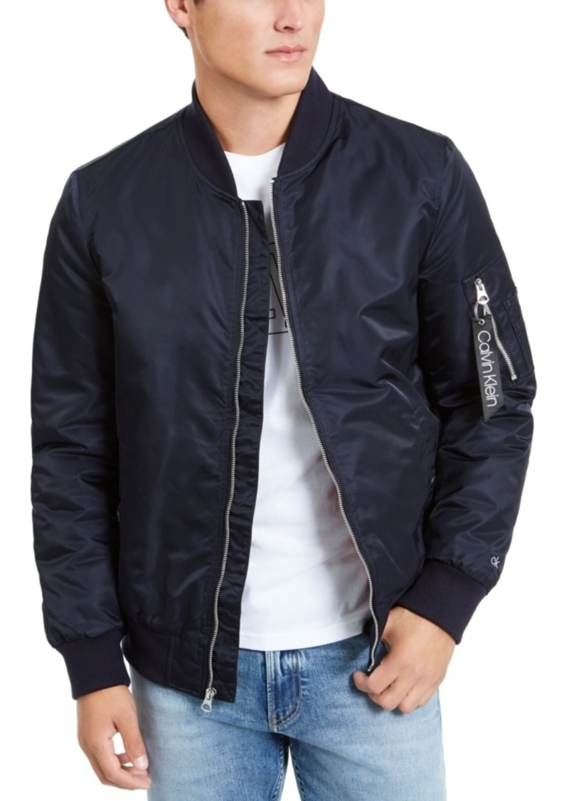 Calvin Klein Men's Bomber Flight Jacket