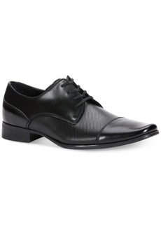 Calvin Klein Men's Bram Diamond Textured Oxfords Men's Shoes