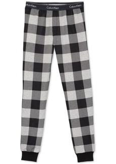 Calvin Klein Men's Buffalo Plaid Joggers