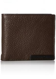 Calvin Klein Men's Calvin Klein Billfold With Money Clip and Key Fob Wallet