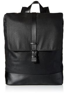 Calvin Klein Men's Calvin Klein Coated Canvas Backpack black