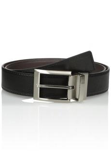 Calvin Klein Men's Calvin Klein Harness Buckle 35mm Reversible Belt black/Brown