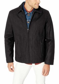 Calvin Klein Men's Calvin Klein Men's Wool Open Bottom Coat Outerwear -medium grey Extra Large