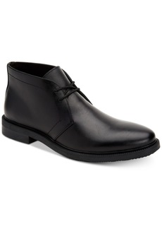 Calvin Klein Men's Cam Leather Chukka Boots Men's Shoes