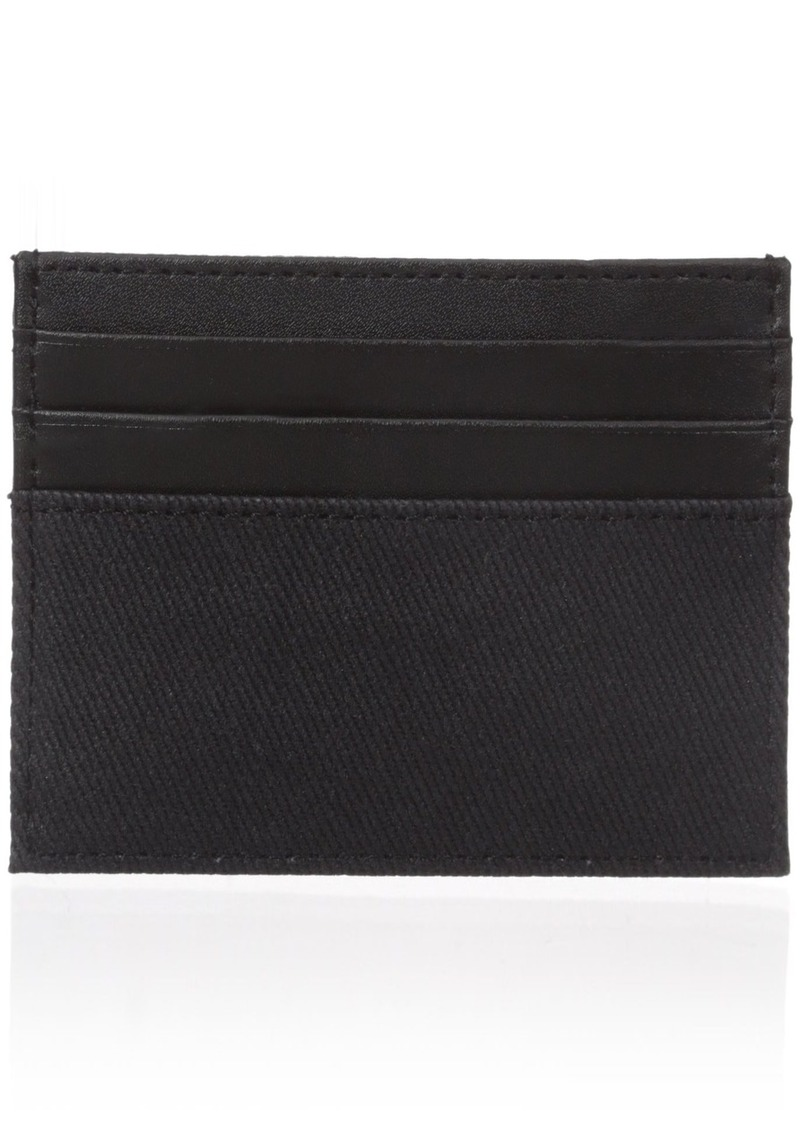 6025931e3b4b Calvin Klein Calvin Klein Men s Canvas and Smooth Leather Card ...