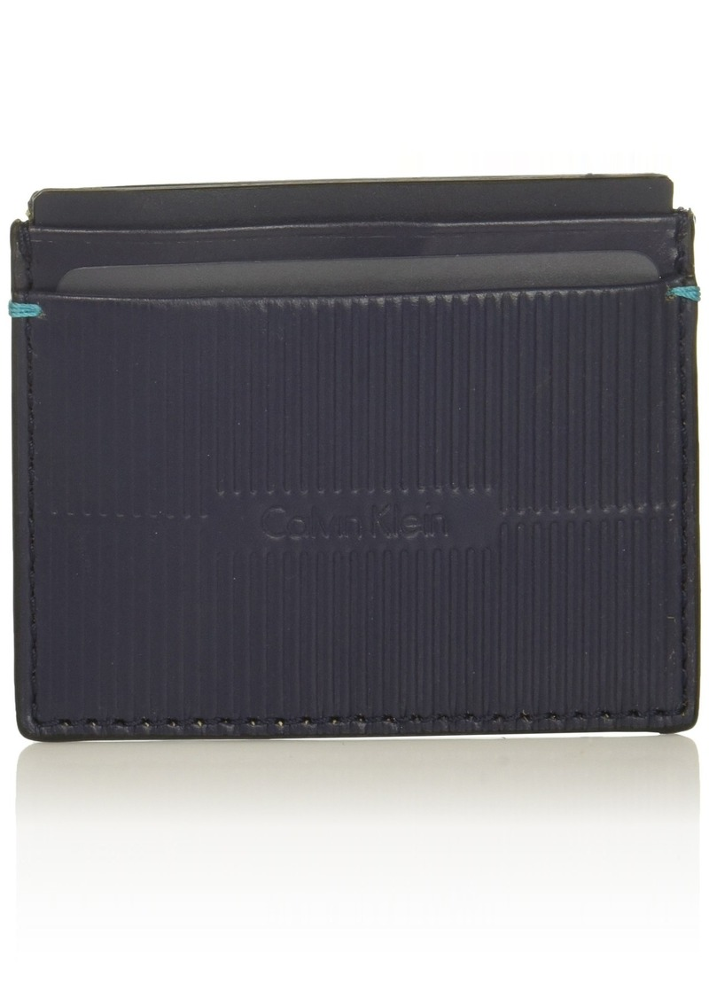 Calvin Klein Men's CARD CASE navy