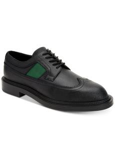 Calvin Klein Men's Carper Grain Leather Wingtip Oxfords Men's Shoes