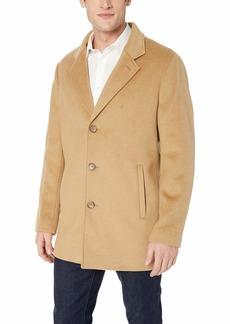 Calvin Klein Men's Cashmere Slim Fit Wool Coat
