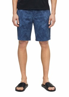 Calvin Klein Men's Casual Twill Print Shorts