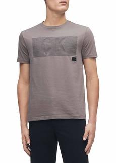 Calvin Klein Men's Ck Fashion Logo Short Sleeve Crew Neck T-Shirt
