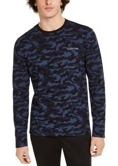 Calvin Klein Men's Ck Move 365 Long Sleeve Camo Shirt