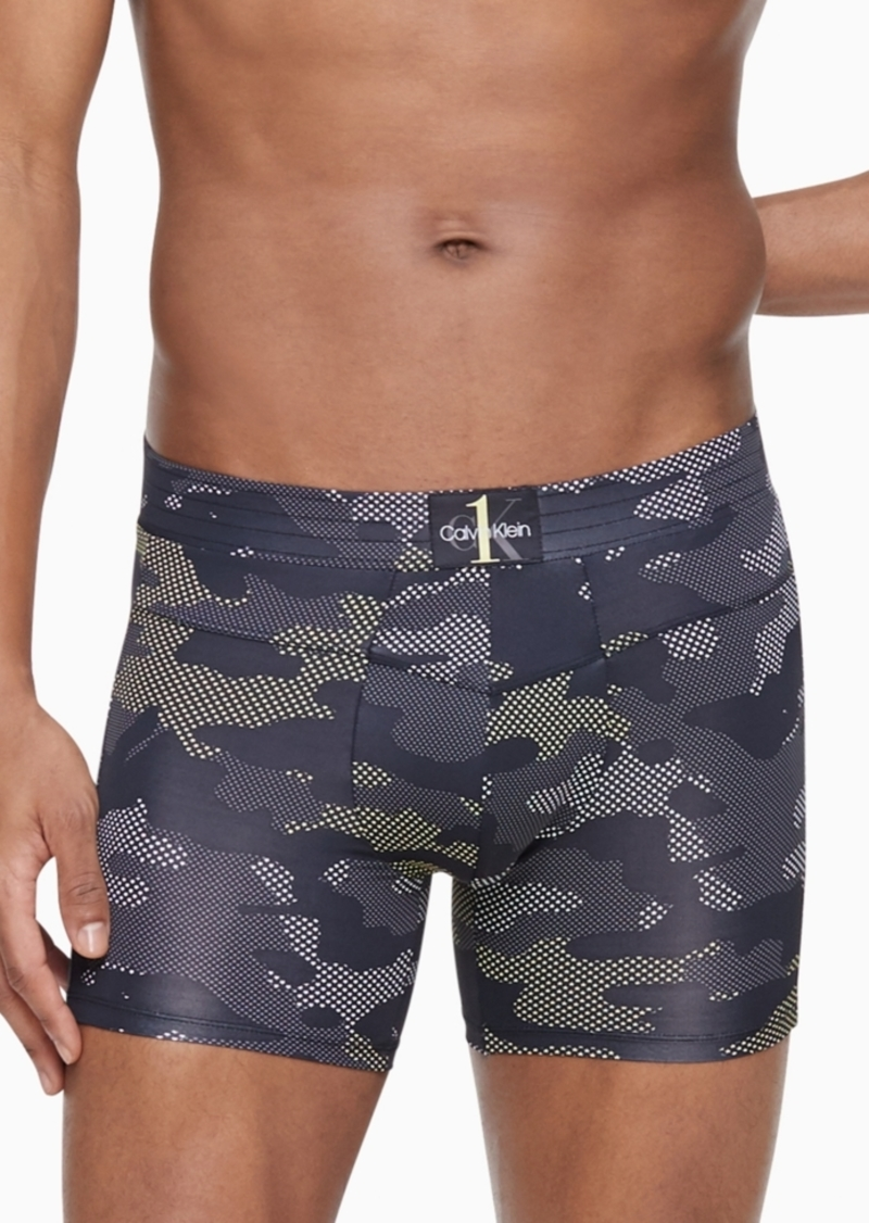 Calvin Klein Men's Ck One Camo Boxer Briefs