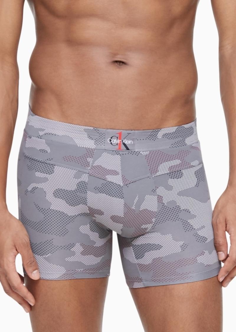Calvin Klein Men's Ck One Camo Boxer Briefs
