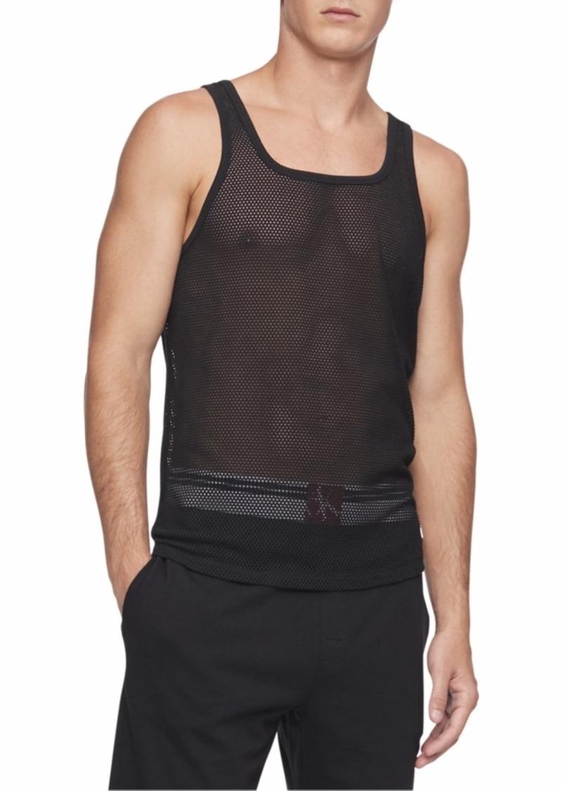 Calvin Klein Men's Ck One Mesh Tank Top