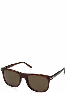 Calvin Klein Men's Ck3198s Square Sunglasses BLONDE HAVANA 55 mm
