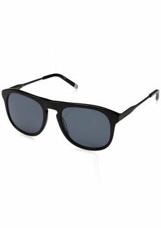Calvin Klein Men's Ck4320s Oval Sunglasses  54 mm