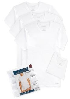Calvin Klein Men's Cotton Classics Crew Neck 3+1 Bonus Pack