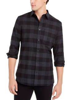Calvin Klein Men's Classic-Fit Buffalo Plaid Shirt