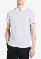 Calvin Klein Men's Classic-Fit Logo-Print Polo