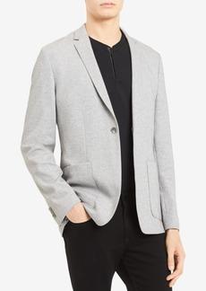 Calvin Klein Men's Classic-Fit Stretch Pique Sport Coat