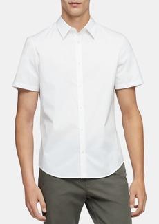 Calvin Klein Men's Classic-Fit Stretch Solid Shirt