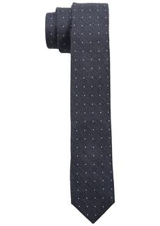 Calvin Klein Men's Classic Pindot Slim Tie