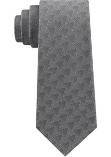 Calvin Klein Men's Classic Zig-Zag Tie