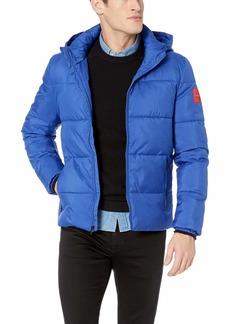 Calvin Klein Men's Coated Puffer Jacket surf The Web