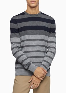 Calvin Klein Men's Colorblock Striped Sweater