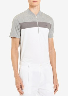 Calvin Klein Men's Liquid Touch Colorblocked Stripe Polo