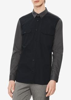 Calvin Klein Men's Colorblocked Twill Shirt