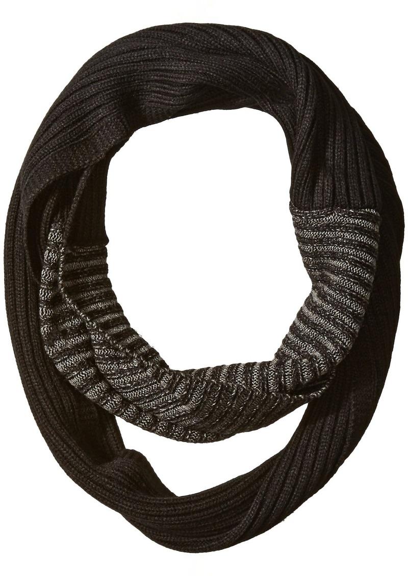 Calvin Klein Men's Colorfade Textured Loop Circular Scarf