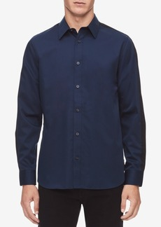 Calvin Klein Men's Contrast Stripe Shirt