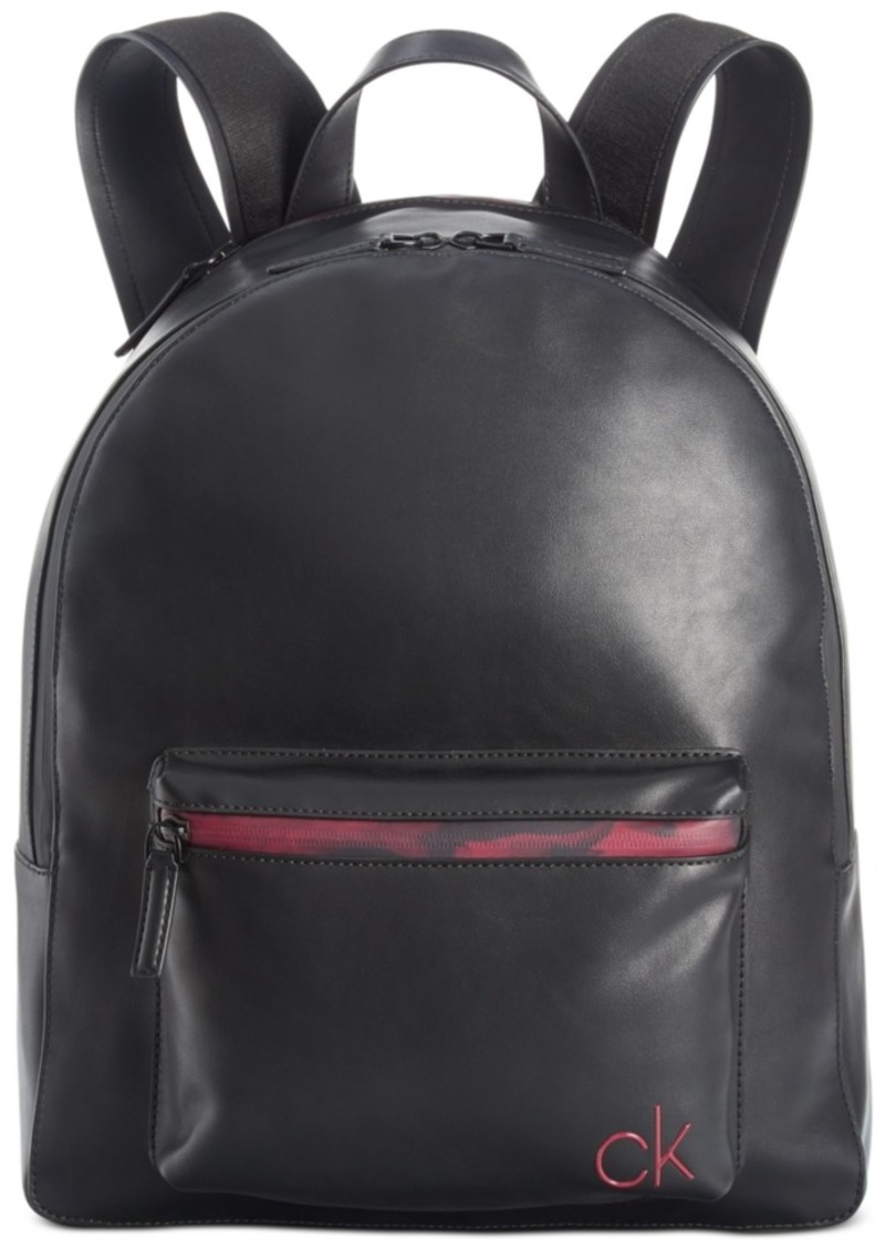 Calvin Klein Men's Contrast-Trim Backpack