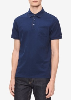 Calvin Klein Men's Contrast Trim Polo Shirt