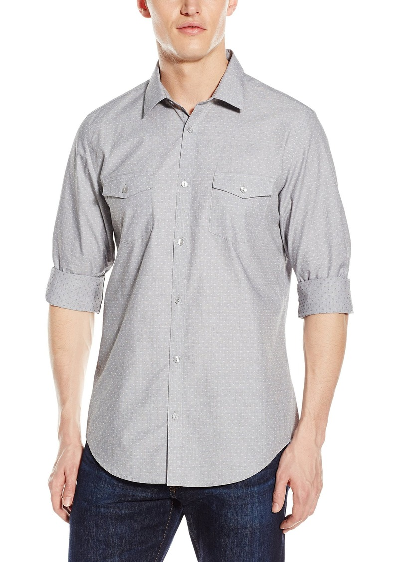 Calvin Klein Men's Infinite Cool Button Down Shirt