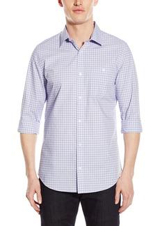Calvin Klein Men's Cool Tech Ombre Dobb Check Shirt