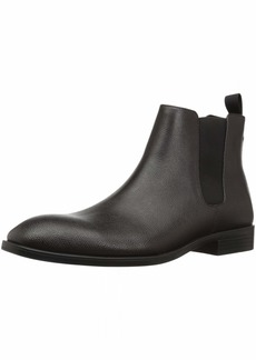 Calvin Klein Men's Corin Small Tumbled Leather Chelsea Boot