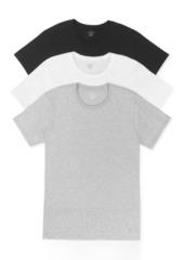Calvin Klein Men's Cotton Classics Crew-Neck Classic Fit 3-pack
