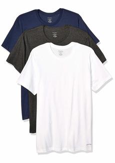 Calvin Klein Men's Cotton Classics Multipack Crew Neck T-Shirts  M