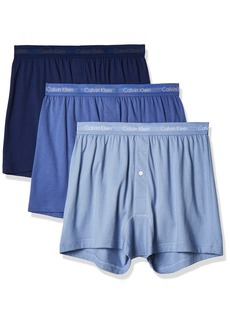 Calvin Klein Men's Cotton Classics Multipack Knit Boxers