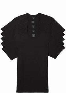 Calvin Klein Men's Cotton Classics Slim Fit Crew Neck T-Shirts  M