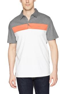 Calvin Klein Men's Cotton Liquid Touch Polo Shirt  M