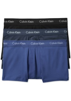 Calvin Klein Men's Cotton Stretch Low-Rise Trunks 3-Pack NU2664