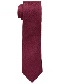 Calvin Klein Men's Croco solid Slim Tie