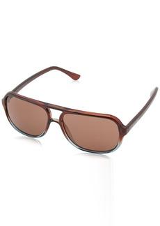 Calvin Klein Men's CWR645S Sunglasses  57 mm